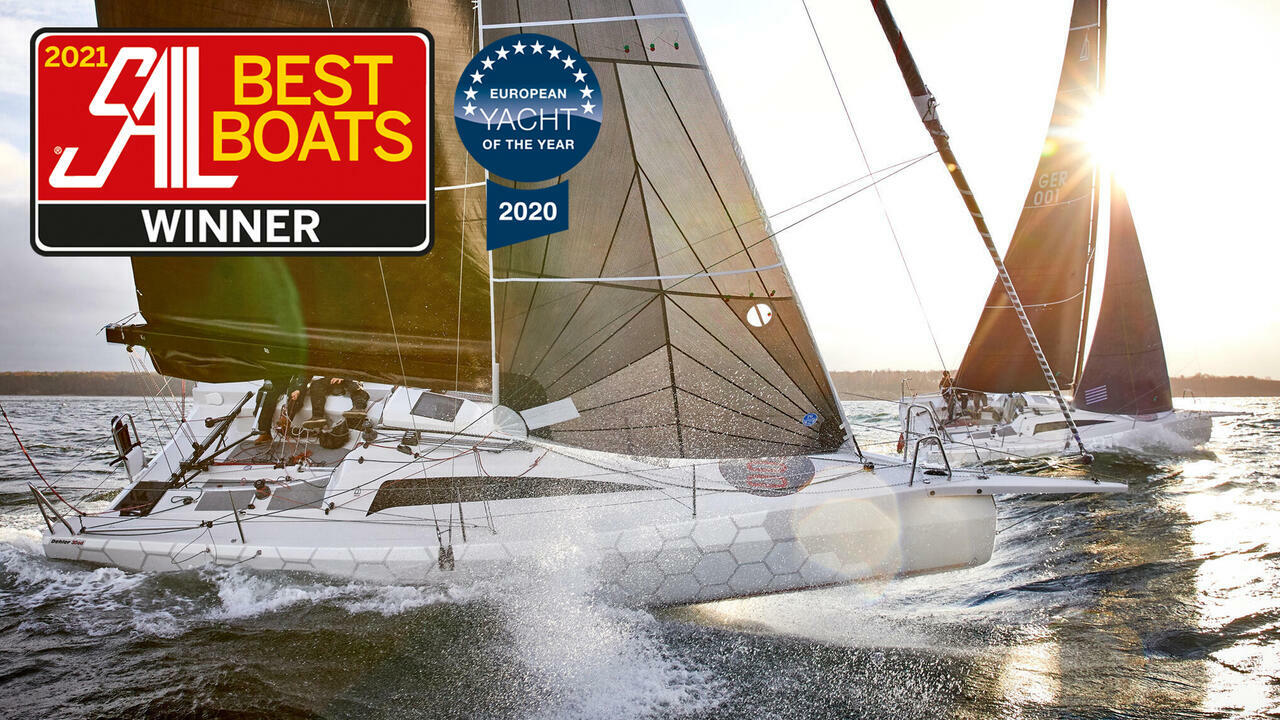Sail Best Sailboats 2021 Dehler 30 one design winner